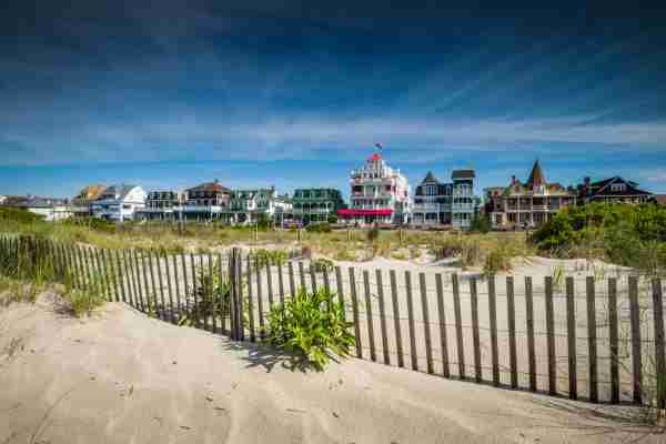 Cape May in New Jersey. (Photo by Walter Bibikow/Getty Images)