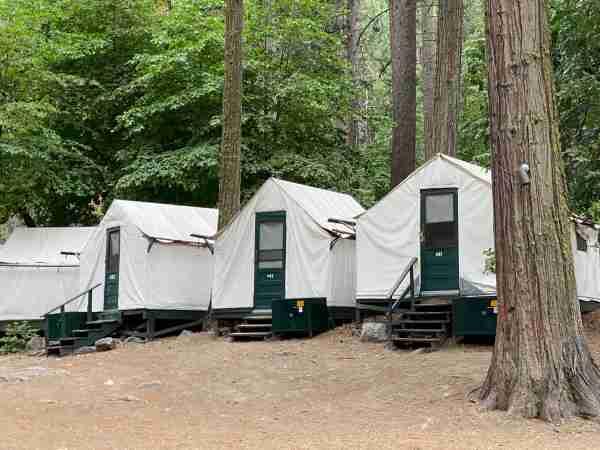 Yosemite Curry Village Tent Cabins