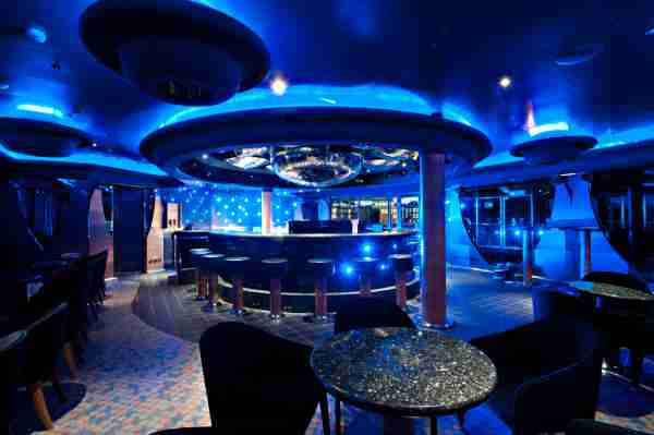 The Magic Piano Bar on a Carnival ship. (Photo courtesy of Carnival Cruise Line)