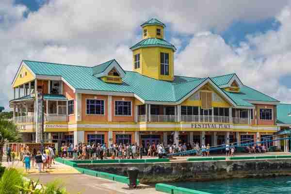 Prince George Wharf Nassau Bahamas
