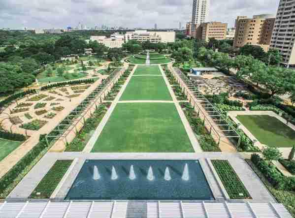 McGovern Centennial Gardens at Hermann Park, Houston, Texas