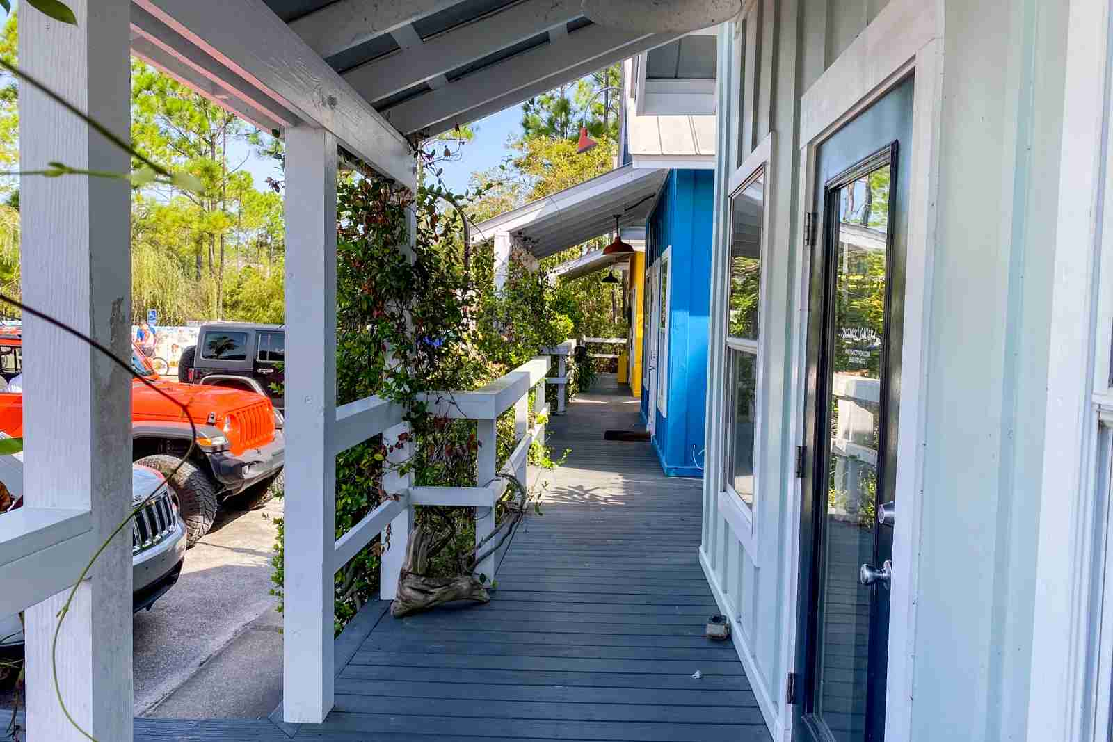 Shops in Grayton Beach (Photo by Summer Hull/The Points Guy)