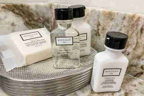 Bath amenities at a Marriott Home and Villa rental (Photo by Summer Hull/The Points Guy)