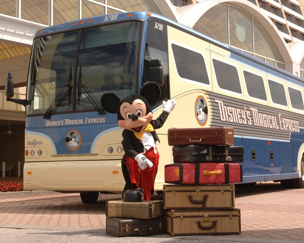 A guide to using the free Disney Magical Express Bus
