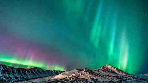 Northern Lights in Anchorage, Alaska