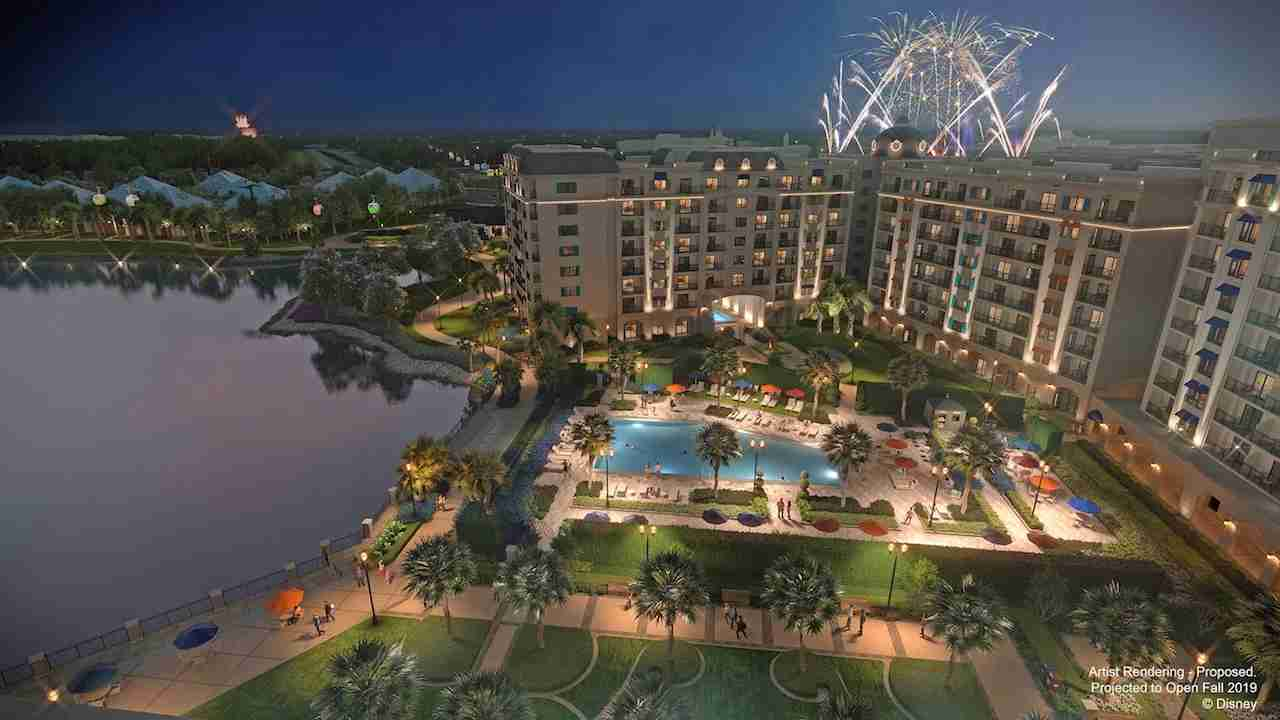 Disney's Riviera Resort is projected to open in fall 2019. This proposed resort will be the 15th Disney Vacation Club property. (Image courtesy of Disney)