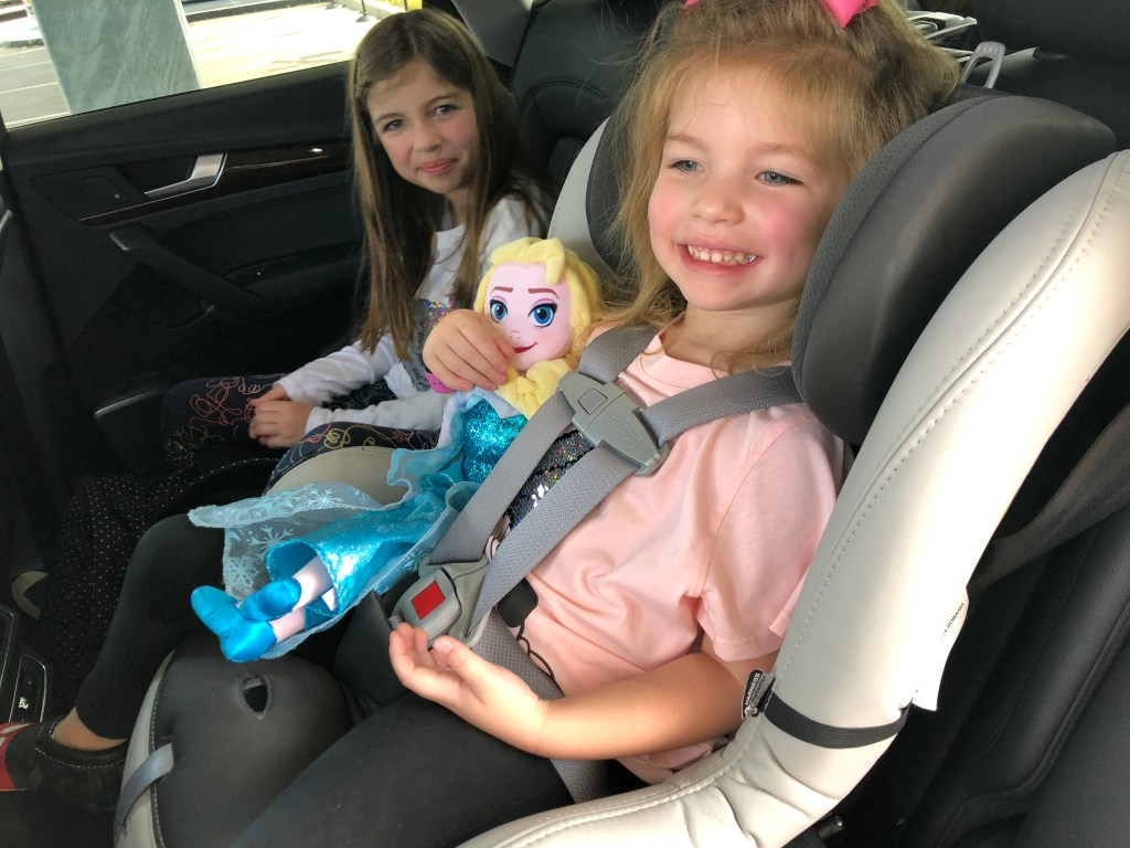 Mommy Points Girls In A Silvercar Rental With Included Car Seat Photo By Summer Hull The Guy