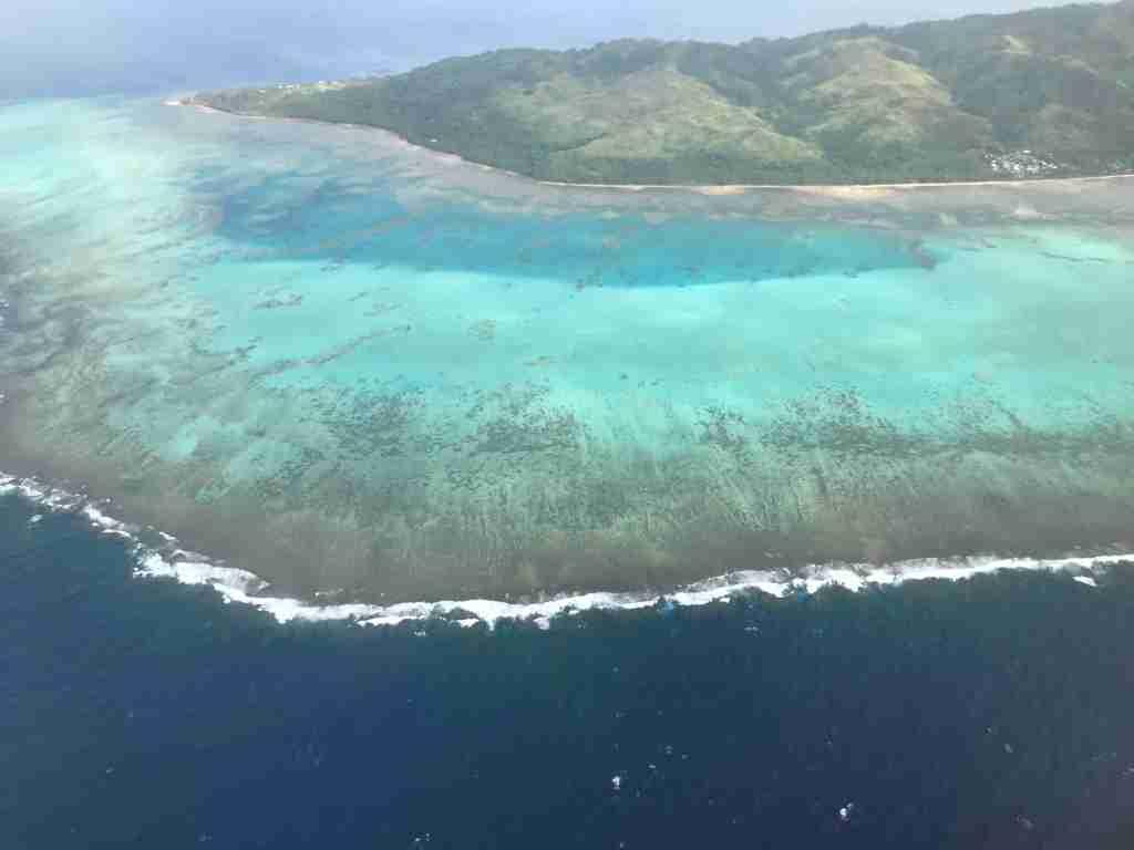 Fiji aerial view