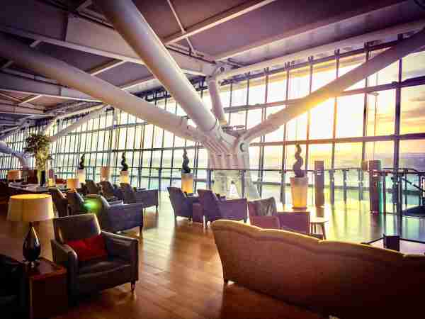 British Airways Concorde Room Lounge / Image by Christian Kramer / The Points Guy