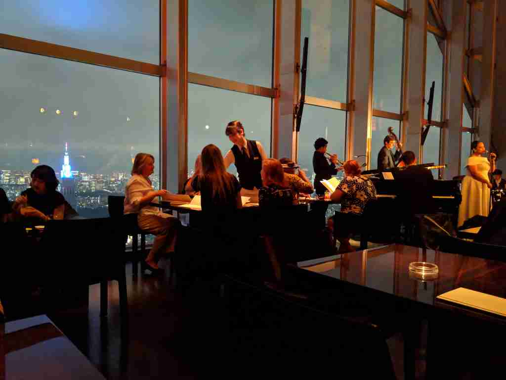 The New York Bar at the Park Hyatt Tokyo. (Photo by Samantha Rosen / The Points Guy).