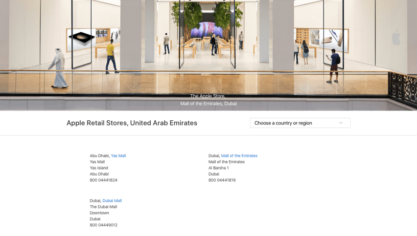 Apple Stores In Uae 4 Things You Did Not Know About Apple Stores