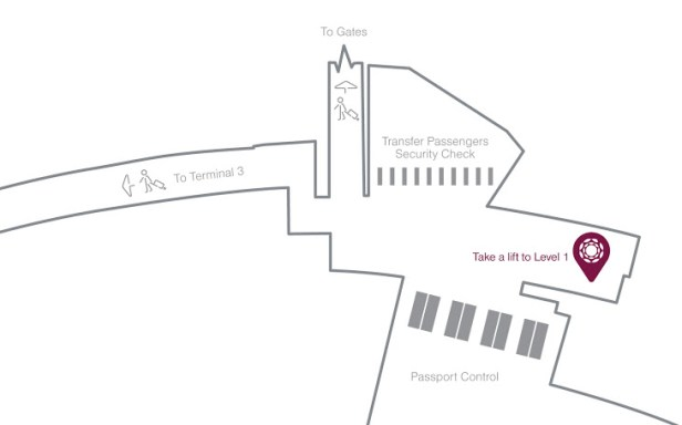 al dhabi lounge location map auh review terminal 1