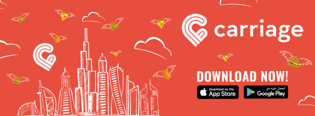 carriage food delivery app promo code discount deals offers coupons
