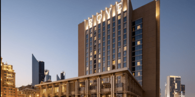 rove downtown hotel dubai uae