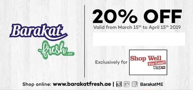 barakat offer shop well for less Dubai uae facebook group