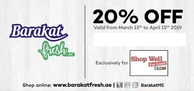 Barakat Promo Code for Shop Well for Less Members - The