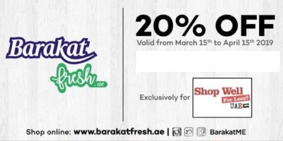 barakat offer shop well for less Dubai uae facebook group