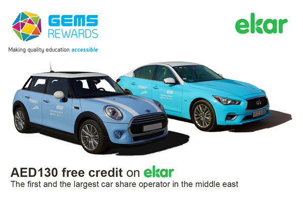 ekar and GEMS Rewards Promotion for new users - The Points