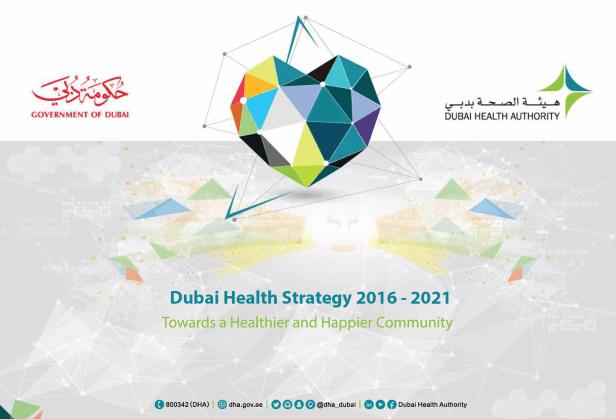 dubai health authority strategy uae