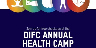 difc health camp dubai international finance centre UAE 2019