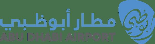 abu dhabi airport logo auh uae