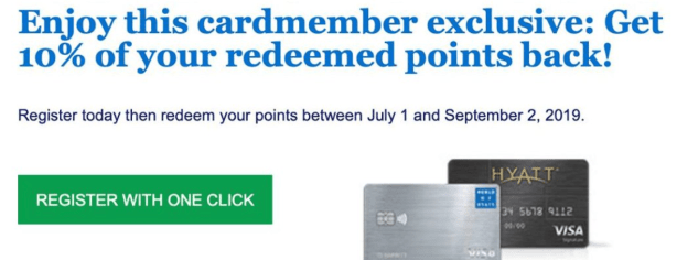 credit card 10% back bonus points exhale spa find experiences