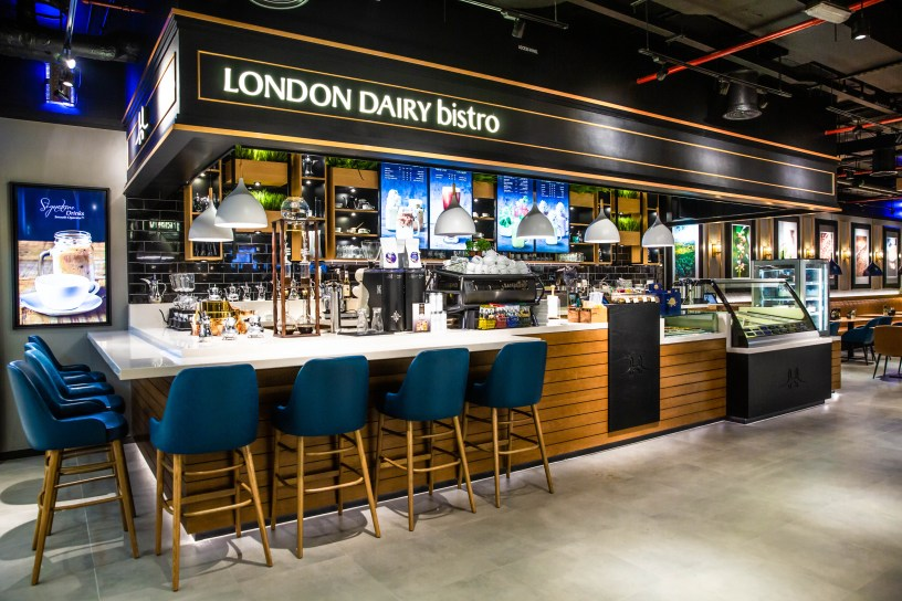london dairy cafe bistro free coffee americano hot friends tv show series dubai media city mira town centre the springs souk la mer north aspin towers sheikh zayed road uae