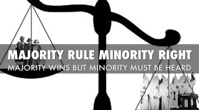 Democracy- A Minority Perspective
