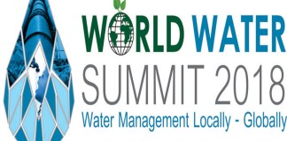 WORLD WATER SUMMIT 2018 Clean & Safe Water Solutions for a Sustainable World