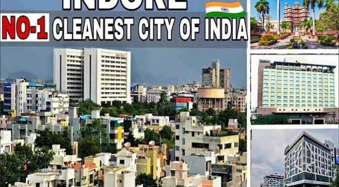 Indore the cleanest city of 2018