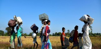 Development and displacement of tribal population