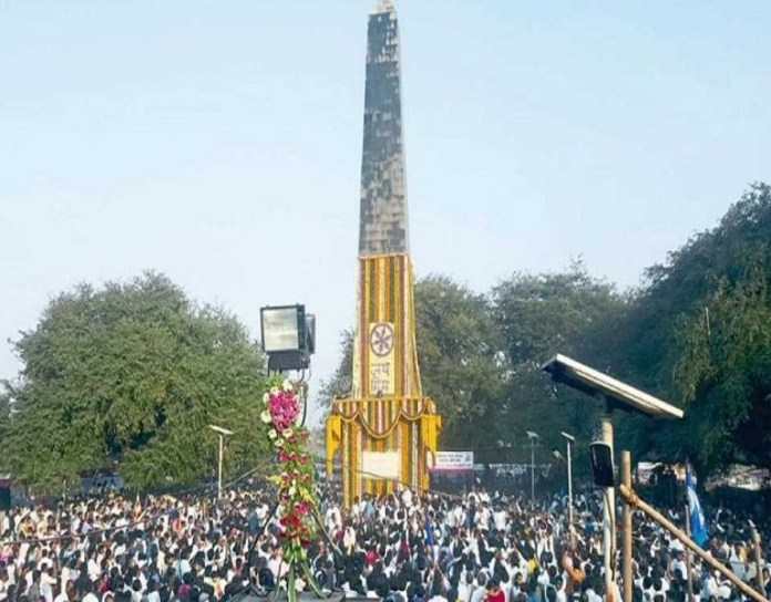 Security stepped up as people pay tributes on Koregaon Bhima anniversary