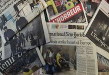 Media glorifies terrorism by putting Terrorist's picture on front page