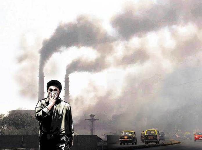 Air pollution in India in 2017: 1.2 million people Death: report