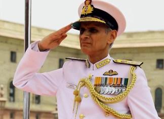 Admiral Karambir Singh took over as Chief of Naval Staff
