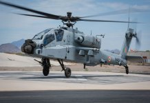 Air Force got first Apache Guardian helicopter