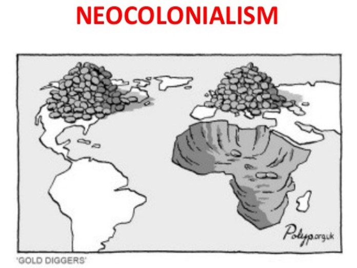 Can the US Form of Capitalism be called 'Neo-Colonialism'?