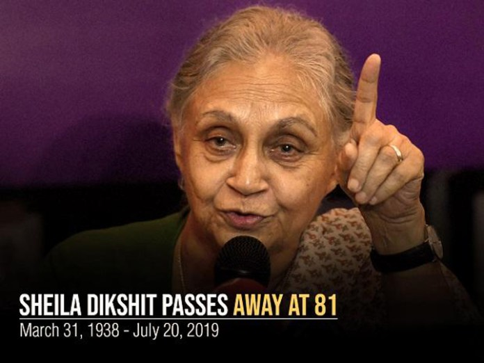 Shelia Dikshit passes away, end of a chapter for Congress