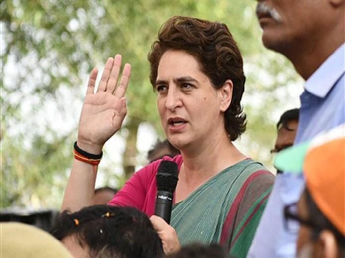 Police stop Priyanka Gandhi from meeting families of Sonbhadra massacre victims