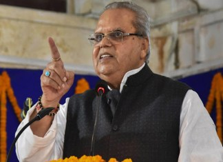 J&K Governor caught in controversy for calling militants to target corrupt local politicians and not innocent civilians