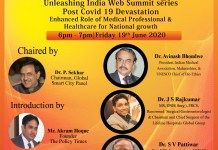 Unleashing India Web Summit Series Post Covid-19 Devastation Enhanced Role of Medical Professional Healthcare for National Growth-the policy times