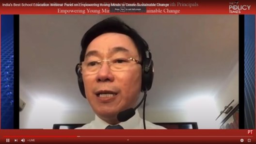 'Students Need to Adopt Three Rules of Online Education', Vietnam Ambassador on Sustainable Education. The policy times