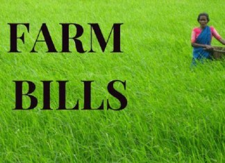 FARM ACTS: INFIRMING THE FARMERS: WHAT NEXT?. the policy times