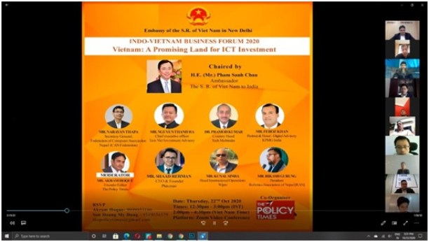 Indo-Vietnam Business Forum 2020| Vietnam: A Promising Land for ICT Investment.the policy times