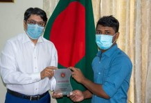 Bangladesh embassy of Qatar appreciated the exemplary good dead of Mr. Yasin .THE POLICY TIMES