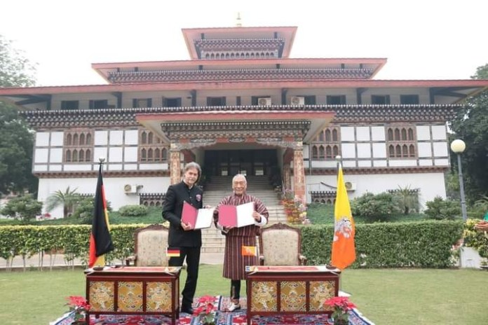 Establishment of diplomatic relations between Bhutan and Germany.THE POLICY TIMES