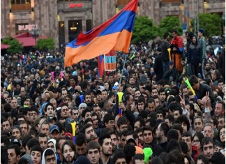 The Demand of PM's Resignation; Armenian Protestors Infuriated.the policy times