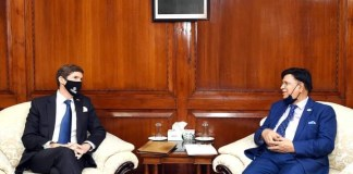 US Ambaassador Earl Miller called on Bangladesh Foreign Minister the policy times