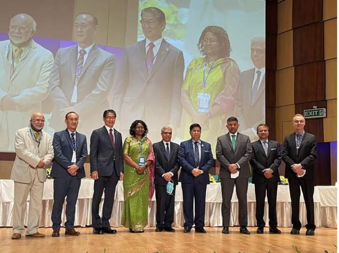 """Ambassador ITO and Japanese experts spoke at a conference """"The Bay of Bengal as Connectivity Hub in Indo-Pacific Region""""THE POLICY TIMES"""