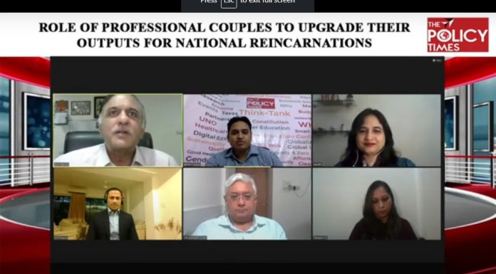 Enhanced Role of Professional Couples for National reincarnations the policy times